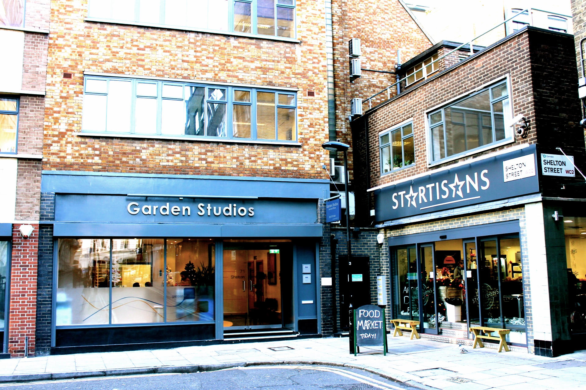 New To Market Serviced Offices At Garden Studios Covent