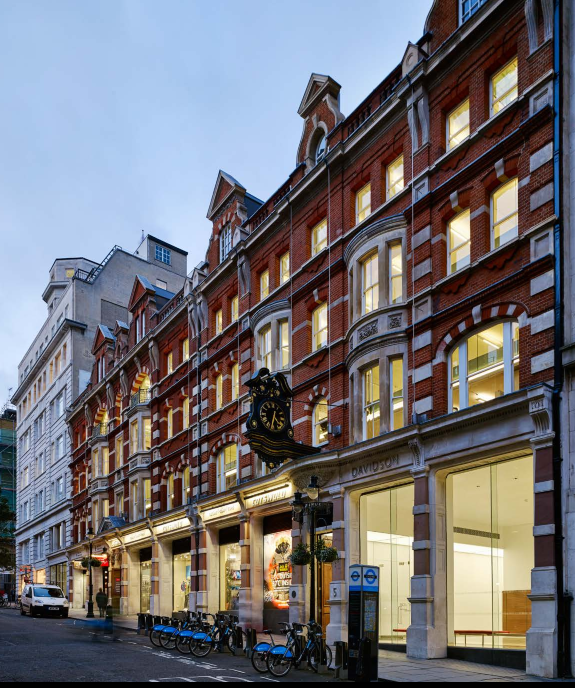 Office Space To Let At The Davidson Building